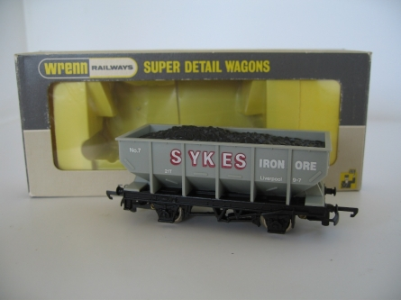 "Wrenn W.5082 ""Sykes"" Hopper Wagon - RARE Long Box Version"