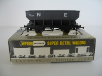 "Wrenn W5079 ""NE"" Hopper Wagon-Grey-174369"
