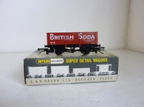 "Wrenn W5069 ""British Soda"" Wagon with Load"