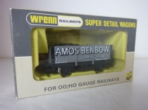 "Wrenn W5067 ""AMOS BENBOW"" Coal Wagon - Grey"