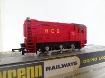"Wrenn W2234 ""NCB"" Diesel Shunter - Red"