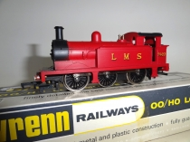 Wrenn W2204 LMS 0-6-0 Tank Red - P3
