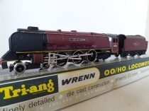 "Wrenn W2226 ""City of London"" Locomotive - BR Maroon - Late P2"