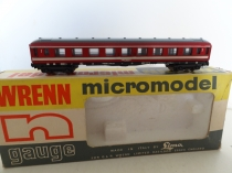 "Wrenn ""N"" Gauge No 323 ""1st Class Brake Coach"" French Railways"