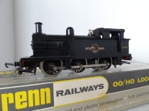 Wrenn W2205 0-6-0 Tank Loco - BR Black - Late P3 Issue