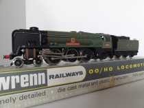 "Wrenn W2235 ""Barnstable"" Rebuilt W/C Class Locomotive - BR Green - Period 3 Issue"