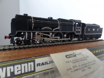 "Wrenn W2403 ""Rifle Brigade"" Scot Class - LMS Black - Limited Edition"