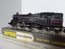 "Wrenn W2218  2-6-4 Tank  Locomotive BR Black - 80033 - RARE ""Red Shaded numbers"" Issue"