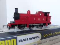 Wrenn W2204 LMS 0-6-0 Tank Red - Mid P3 Issue