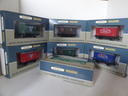 NEW WRENN END OF LINE SALE - LIMITED EDITION WAGONS - ALL AT 25.00 English Pounds EACH + POSTAGE