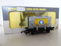 Wrenn W5072 Blue Circle Bulk Cement Loaded Wagon - Light Grey - P4 - VERY RARE