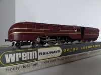 Wrenn W2302 King George V1 Coronation Class Streamliner - LMS Maroon - RARE