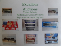 Excalibur Auction 15/7/2017 - NOT TO MISS!