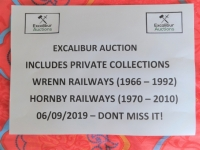 EXCALIBUR AUCTION 6/9/2019 - Village Hotel, Elstree WD6 3SB - 333 LOTS